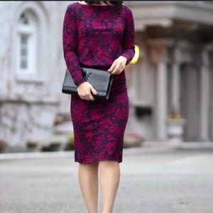 Tory Burch Etta Floral Sheath Dress Career
